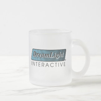 DreamLight® Logo Frosted Glass Mug