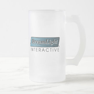 DreamLight® Logo Tall Frosted Glass Mug