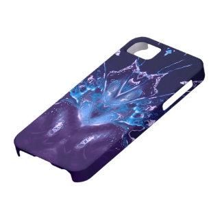 dreamlike fluids blue iPhone 5 case