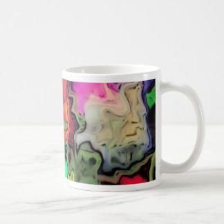 dreamlike fluids colorful classic white coffee mug