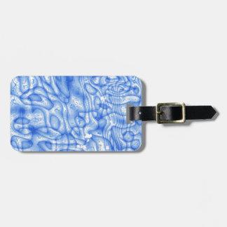 dreamlike fluids soft blue tags for bags