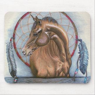 """DreamLike"" Horse and dream catcher original art Mouse Pad"
