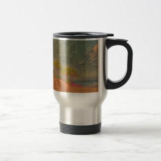 dreamlike landscape 15 oz stainless steel travel mug