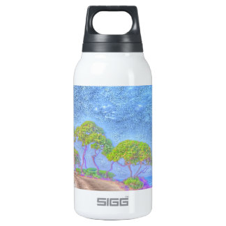 dreamlike landscape 10 oz insulated SIGG thermos water bottle