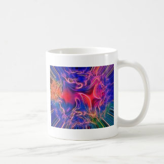 dreamlike vision blue classic white coffee mug