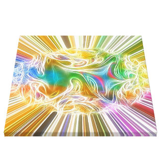 dreamlike vision bright stretched canvas prints