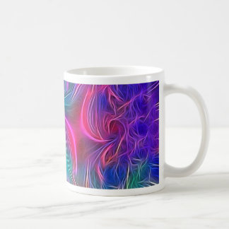 dreamlike vision green classic white coffee mug