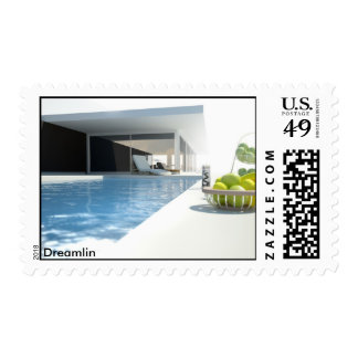 Dreamlin Post Postage Stamp