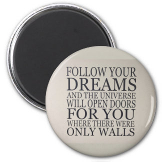 dreams 2 inch round magnet