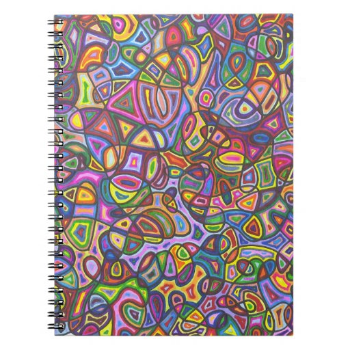 Dreams Abstract Art Spiral Notebook