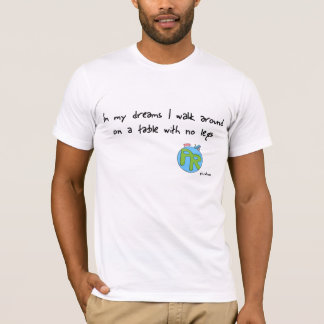 dreams, American Apparel fitted tee