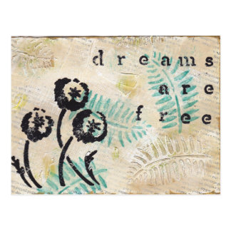 Dreams Are Free Post Cards