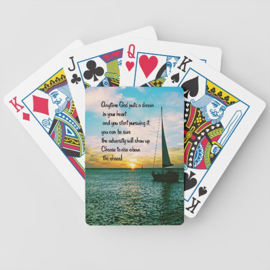 Dreams Bicycle Playing Cards