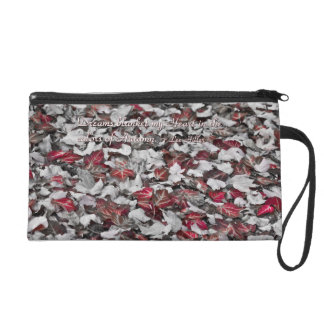 Dreams blanket my Heart... Wristlet Purse Bag