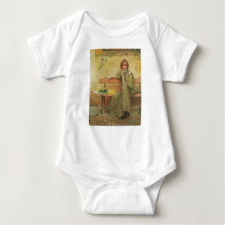 Dreams by Vittorio Matteo Corcos 1896 Baby Bodysuit