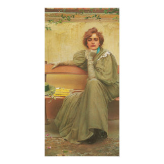 Dreams by Vittorio Matteo Corcos 1896 Card