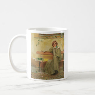 Dreams by Vittorio Matteo Corcos 1896 Coffee Mug