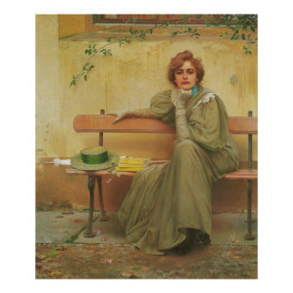 Dreams by Vittorio Matteo Corcos 1896 Posters