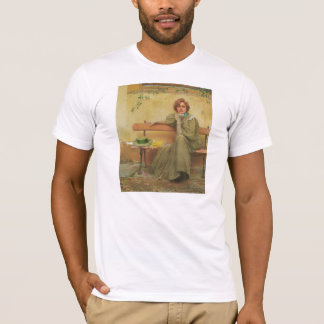 Dreams by Vittorio Matteo Corcos 1896 T-Shirt