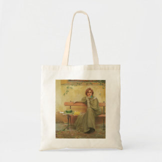 Dreams by Vittorio Matteo Corcos 1896 Tote Bag