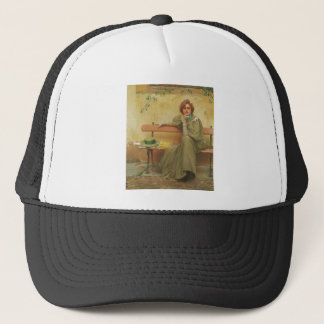 Dreams by Vittorio Matteo Corcos 1896 Trucker Hat