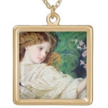 Dreams, c.1861 (w/c, bodycolour and gum over graph jewelry