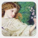 Dreams, c.1861 (w/c, bodycolour and gum over graph sticker