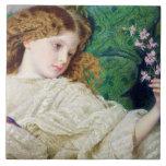 Dreams, c.1861 (w/c, bodycolour and gum over graph tiles
