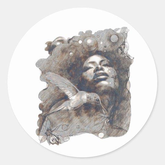 Dreams Classic Round Sticker