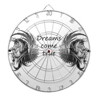 dreams come dart board