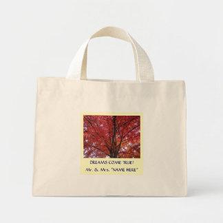 Dreams Come True! Wedding Party Tote bag Autumn