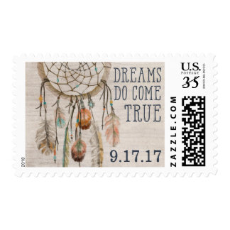 Dreams Do Come True Dream Catcher Postage Stamp