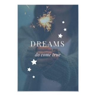 Dreams Do Come True Invite