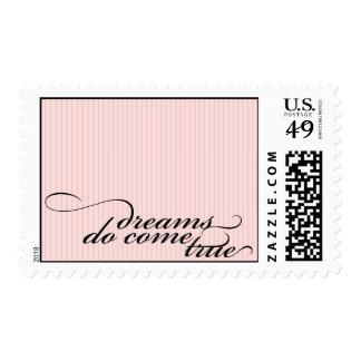 dreams do come true {pink postage} postage