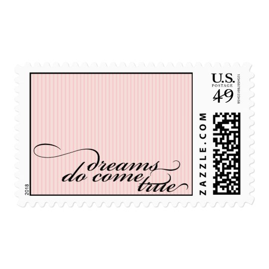 dreams do come true {pink postage} postage