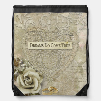 Dreams Do Come True Drawstring Bag