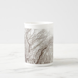 """Dreams Do Come True"" Snow Tree Mug"