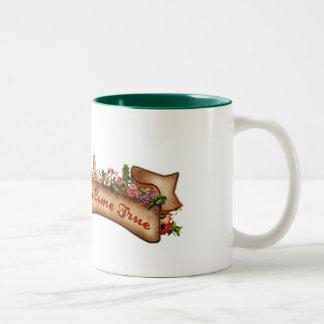Dreams do Come True Two-Tone Coffee Mug