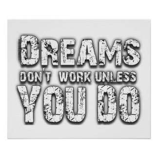 Dreams Don't Work - 2 Poster