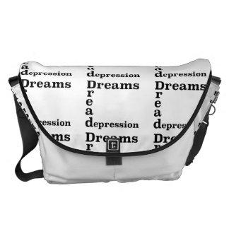 Dreams Dread Depression Messenger Bag