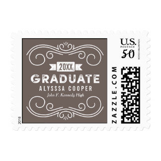 Dreams EDITABLE COLOR Graduation Stamp