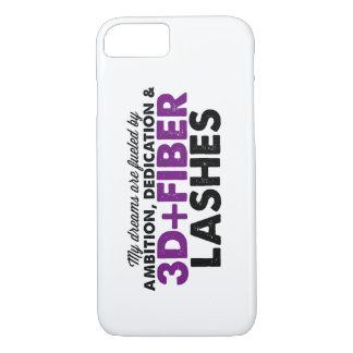 Dreams Fueled by 3D Fiber Lashes iPhone 7 Case