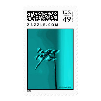 Dreams in a Turquoise Abyss Stamp