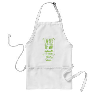 Dreams in Coffee Adult Apron