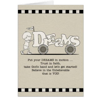 Dreams in Motion Card