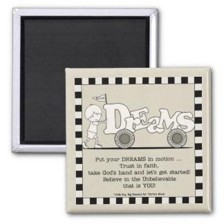 Dreams in Motion Fridge Magnets