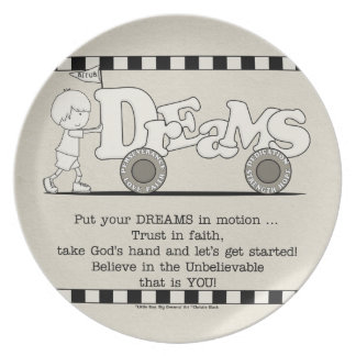 Dreams in Motion Plate