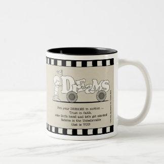 Dreams in Motion Two-Tone Coffee Mug