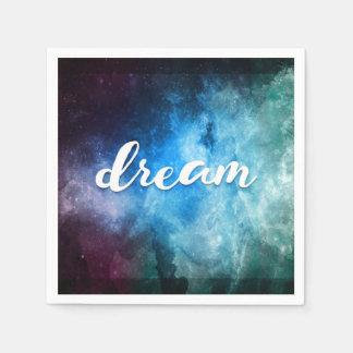 Dreams in Space Paper Napkins