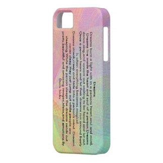 Dreams iPhone SE/5/5s Case